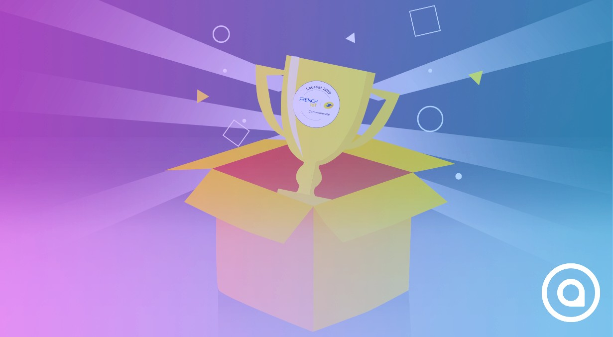 """Numii by AIO won the prize """"Lauréat 2019"""" from French IoT by La Poste !"""