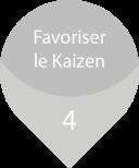 Quatrième bénéfice du Karakuri Kaizen est de favoriser le développement du kaizen