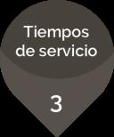 Tiempos de servicio